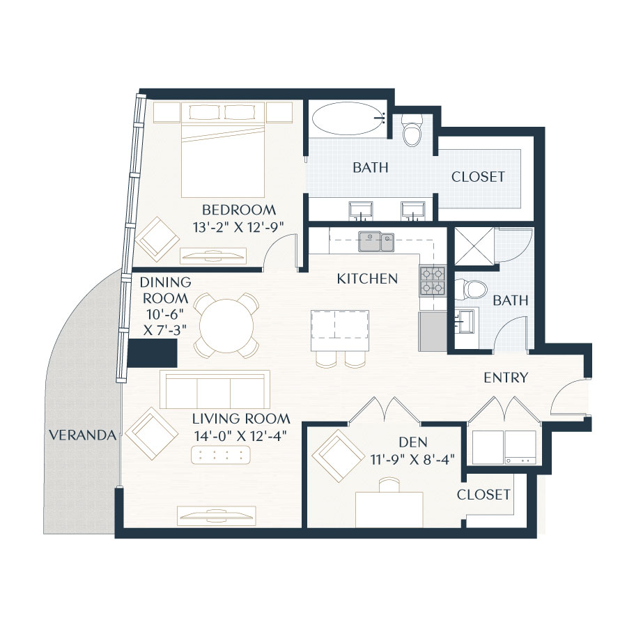 Luxury High Rise in Houston  Apartment Floor Plans  9 Weslayan